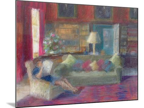 Library at Thorpeperrow-Karen Armitage-Mounted Giclee Print