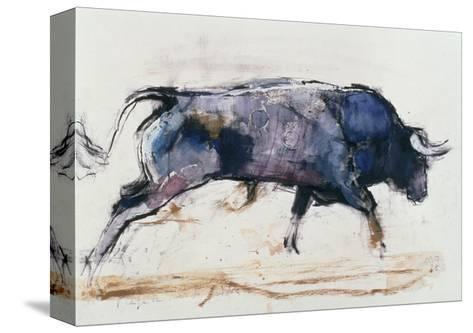 Charging Bull, 1998-Mark Adlington-Stretched Canvas Print
