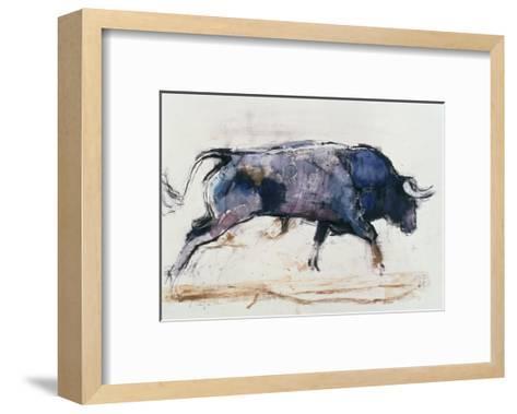 Charging Bull, 1998-Mark Adlington-Framed Art Print