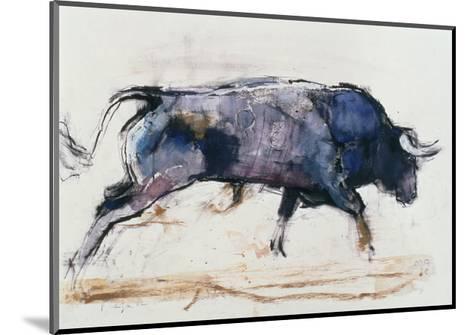 Charging Bull, 1998-Mark Adlington-Mounted Giclee Print