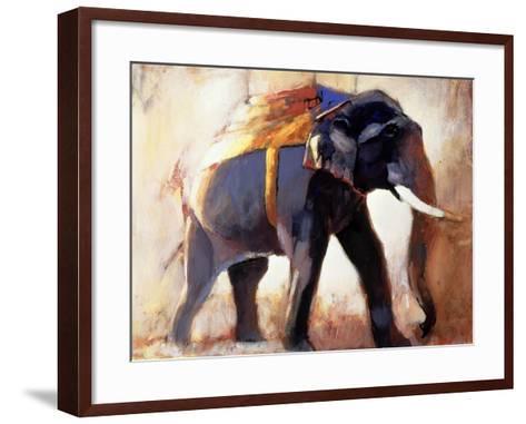 Shivaji, Khana, 1996-Mark Adlington-Framed Art Print