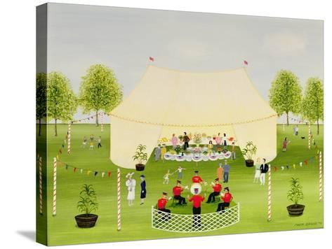 The Garden Party-Mark Baring-Stretched Canvas Print
