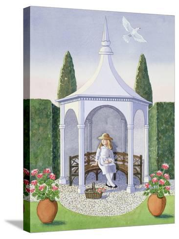 Summer House-Lavinia Hamer-Stretched Canvas Print