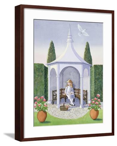 Summer House-Lavinia Hamer-Framed Art Print