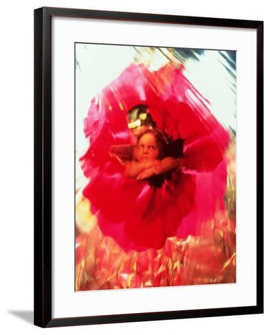 Angel and Poppy-Katherine Fawssett-Framed Art Print