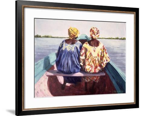 To the Island, 1998-Tilly Willis-Framed Art Print