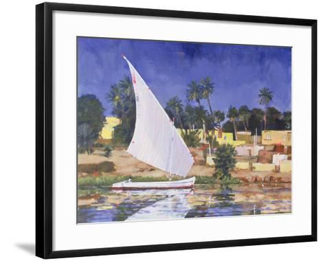 Egypt Blue-Clive Metcalfe-Framed Art Print