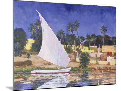 Egypt Blue-Clive Metcalfe-Mounted Giclee Print
