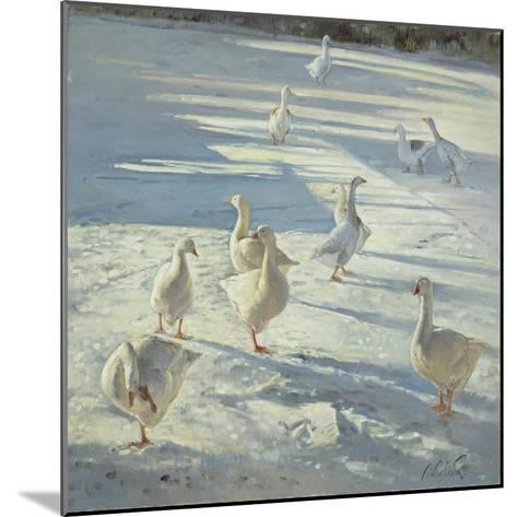 The Gathering-Timothy Easton-Mounted Giclee Print