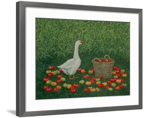 The Apple Basket-Ditz-Framed Art Print