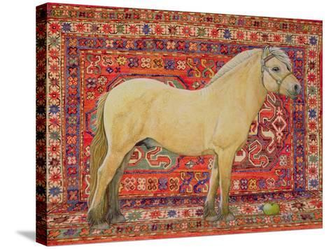 The Carpet Horse-Ditz-Stretched Canvas Print
