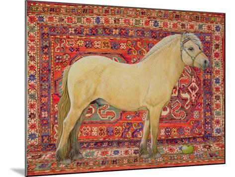 The Carpet Horse-Ditz-Mounted Giclee Print