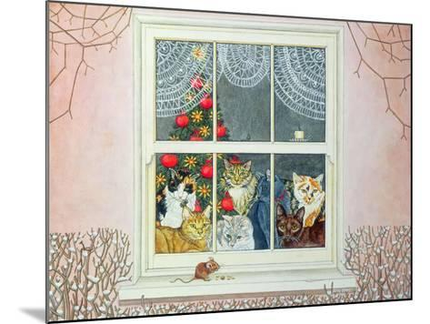The Christmas-Mouse-Ditz-Mounted Giclee Print