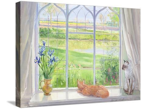 Evening Breeze-Timothy Easton-Stretched Canvas Print