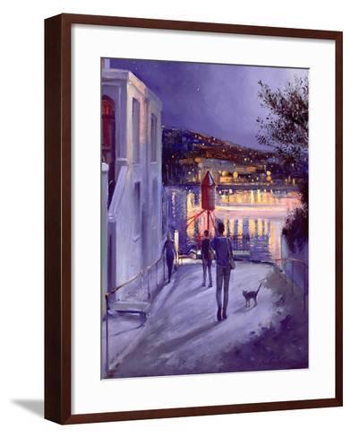 Moonlit Start-Timothy Easton-Framed Art Print