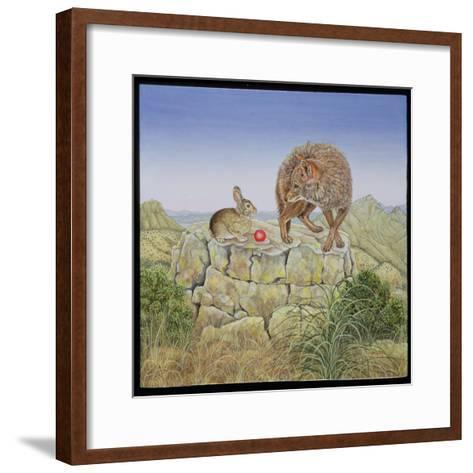 Lion's Hotel-Ditz-Framed Art Print