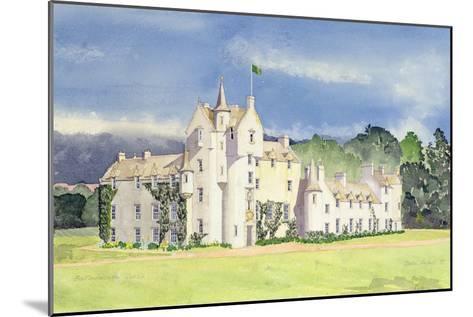 Ballindalloch Castle, 1995-David Herbert-Mounted Giclee Print