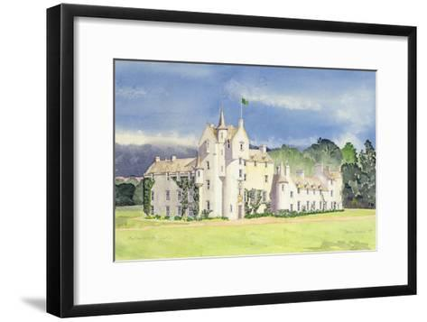 Ballindalloch Castle, 1995-David Herbert-Framed Art Print