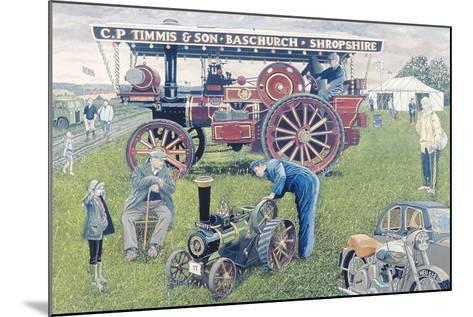 Traction Engines at the Show, 1993-Huw S. Parsons-Mounted Giclee Print