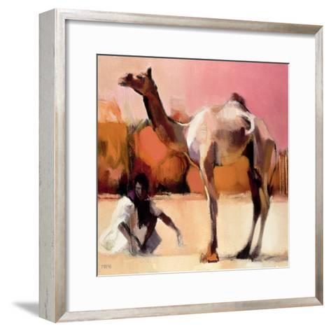 Dsu and Said, Rann of Kutch, 1996-Mark Adlington-Framed Art Print