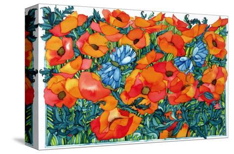 Poppies, 1998-Maylee Christie-Stretched Canvas Print