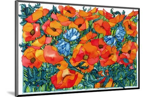 Poppies, 1998-Maylee Christie-Mounted Giclee Print