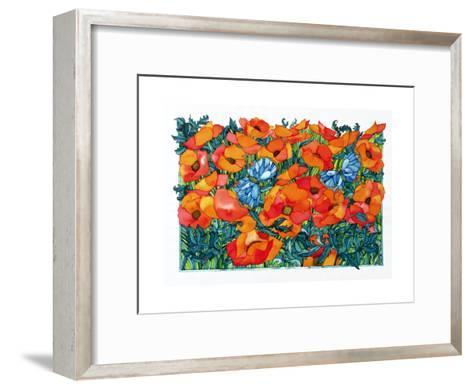 Poppies, 1998-Maylee Christie-Framed Art Print