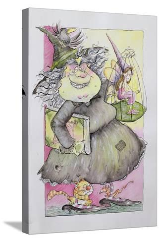 Wicked Witch, 1998-Maylee Christie-Stretched Canvas Print