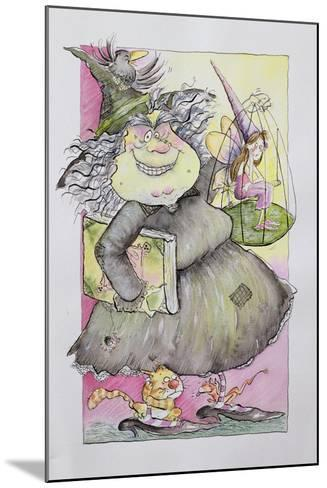 Wicked Witch, 1998-Maylee Christie-Mounted Giclee Print