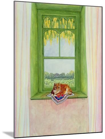 Laburnum Cat-Ditz-Mounted Giclee Print