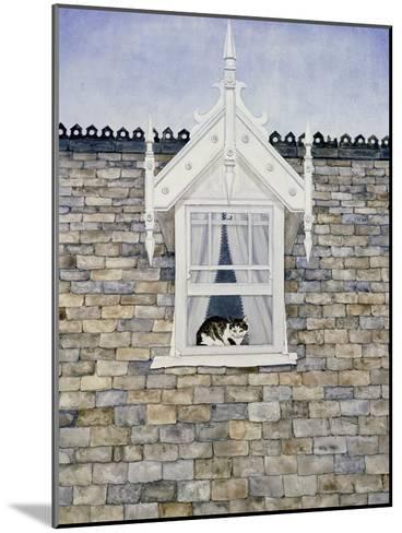 St.Helier Dormer Cat-Ditz-Mounted Giclee Print