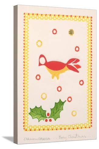Merry Christmas-Carmen Gracia-Stretched Canvas Print