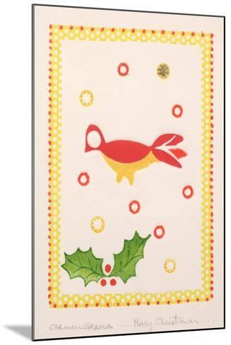 Merry Christmas-Carmen Gracia-Mounted Giclee Print