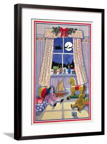 Midnight Visitor-Lavinia Hamer-Framed Art Print