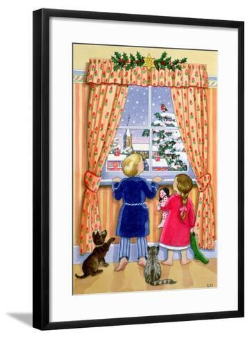 Seeing the Snow-Lavinia Hamer-Framed Art Print