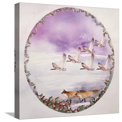 Home for Christmas-Suzi Kennett-Stretched Canvas Print