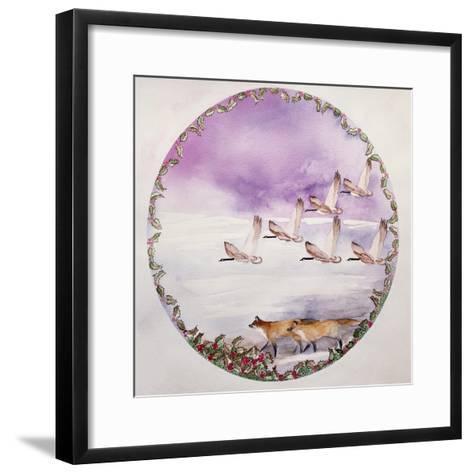 Home for Christmas-Suzi Kennett-Framed Art Print
