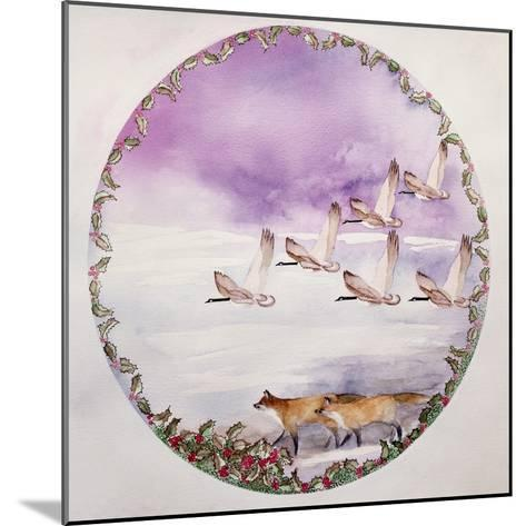 Home for Christmas-Suzi Kennett-Mounted Giclee Print