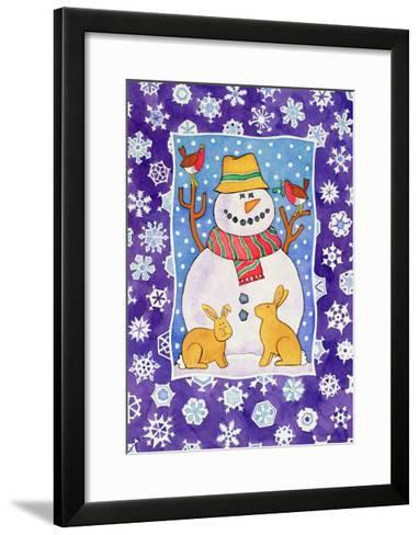 Christmas Snowflakes, 1995-Cathy Baxter-Framed Art Print
