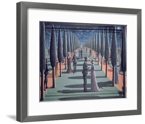 Tryst-P.J. Crook-Framed Art Print