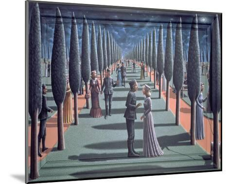 Tryst-P.J. Crook-Mounted Giclee Print