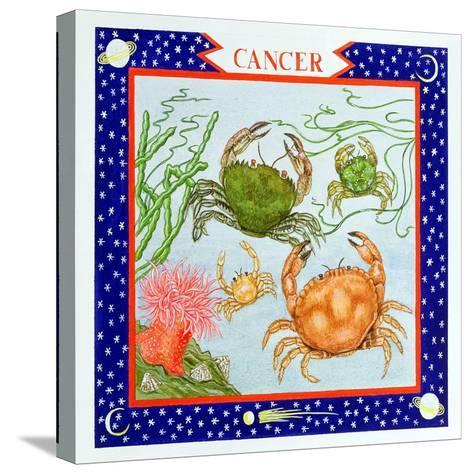 Cancer-Catherine Bradbury-Stretched Canvas Print