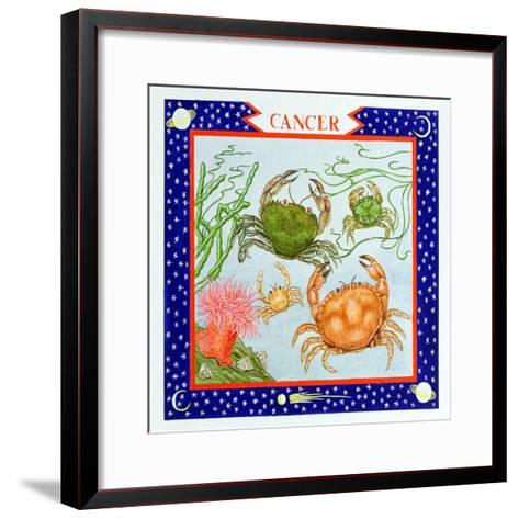 Cancer-Catherine Bradbury-Framed Art Print