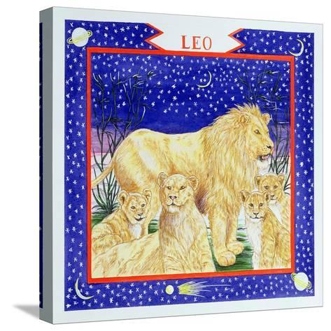 Leo-Catherine Bradbury-Stretched Canvas Print