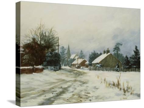 Higham, Winter '86-Vic Trevett-Stretched Canvas Print