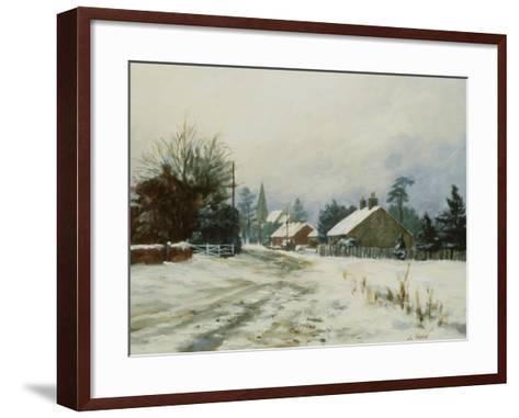 Higham, Winter '86-Vic Trevett-Framed Art Print