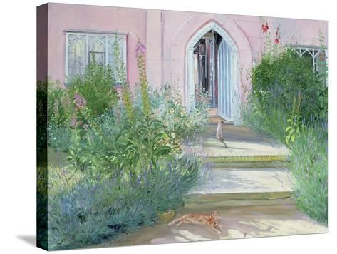 Evening Shadows, 1989-Timothy Easton-Stretched Canvas Print