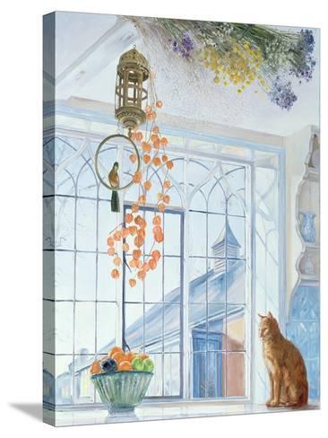 Lanterns-Timothy Easton-Stretched Canvas Print