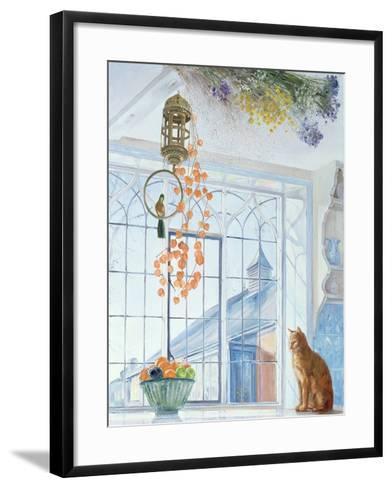 Lanterns-Timothy Easton-Framed Art Print