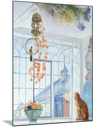 Lanterns-Timothy Easton-Mounted Giclee Print